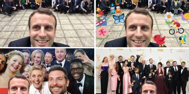 Le selfie de Macron vaut le