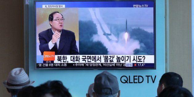 La Corée du Nord procède à un nouveau tir de missile et teste le nouveau dirigeant
