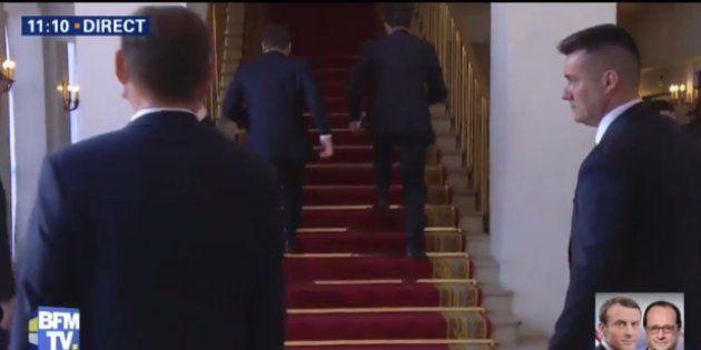 Investiture Macron: Roselyne Bachelot a une théorie sur la montée des marches de l'Elysée au pas de