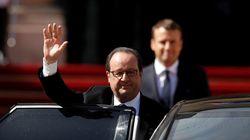 Adieux de Hollande à l'Élysée et au PS: