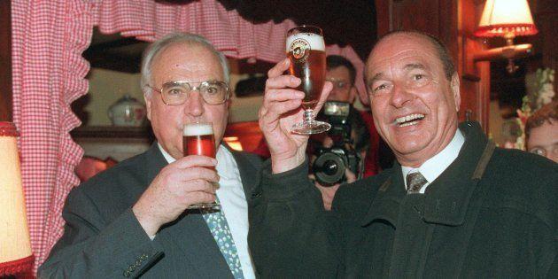 Jacques Chirac et Helmut Kohl ont inauguré les rendez-vous bilatéraux de début de