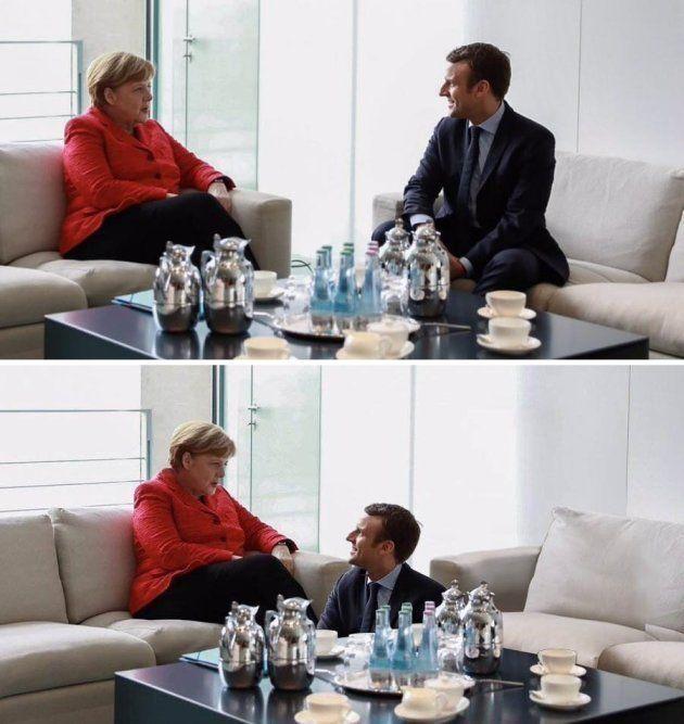 Macron chez Merkel, une tradition franco-allemande inaugurée dans les années