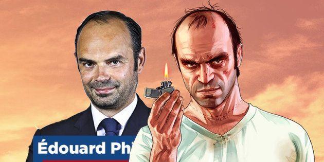 Édouard Philippe fait penser à Trevor Philips, le psychopathe de GTA 5 (et ça inquiète pas mal les