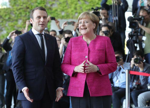 Angela Merkel et Emmanuel