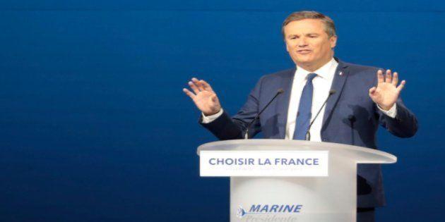 Nicolas Dupont-Aignan nie catégoriquement s'être rallié au Front