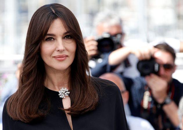 Monica Bellucci bien arrivée au festival de Cannes