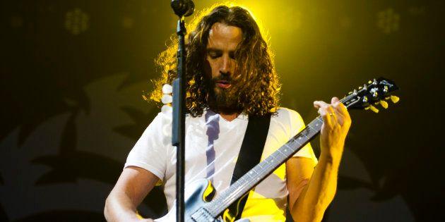 Chris Cornell, le chanteur de Soundgarden et Audioslave, est
