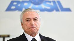 Le président du Brésil enregistré en train de valider des