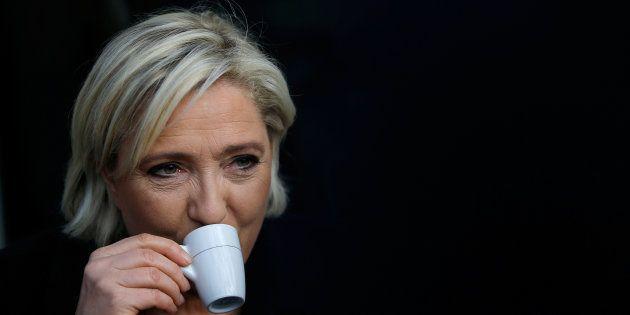 Marine Le Pen à Concarneau au mois de