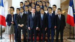 Manuel Valls était (presque) sur la photo de famille du