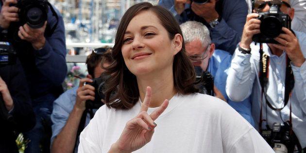 Marion Cotillard à Cannes le 17 mai