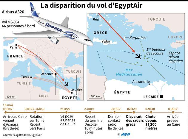 Crash du vol Egyptair MS804, un an après: