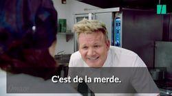 Gordon Ramsay vous apprend à insulter les plats qu'on vous
