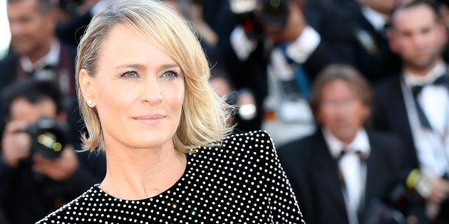 Robin Wright est au Festival de Cannes pour présenter son premier court