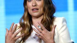 L'actrice Olivia Wilde était sur Times Square lors du
