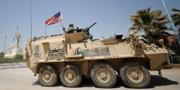 Les États-Unis bombardent un convoi pro-régime en