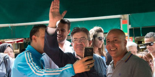 Jean-Luc Mélenchon arrive en tête à Marseille, selon un