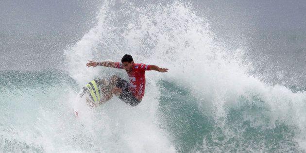 Avec des surfeurs comme Jérémy Florès aux championnats du monde de surf à Biarritz, l'équipe de France...