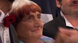 Agnès Varda extrêmement émue par une standing ovation à