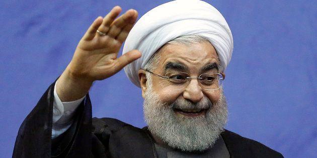 Le président iranien Rohani réélu dès le premier