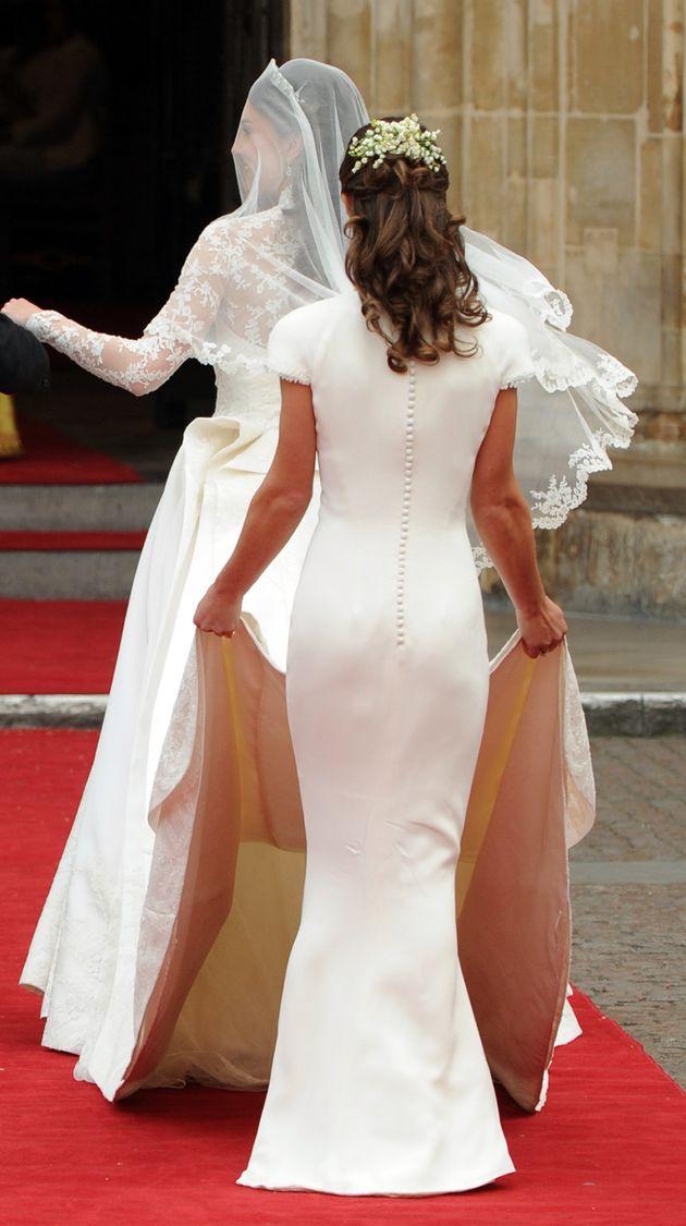 Le Prince Harry, Kate et William réunis en grande pompe pour le mariage de Pippa