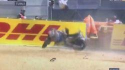 Au Grand Prix de moto du Mans, ce pilote est sorti indemne d'un terrible