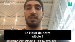 Ce basketteur turc, star de la NBA, privé de passeport pour ses idées