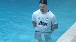 Cette vidéo de Zlatan à la piscine va parler à tous ceux qui ont connu la