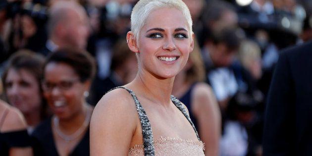 Kristen Stewart sur le tapis rouge de Cannes, le 20