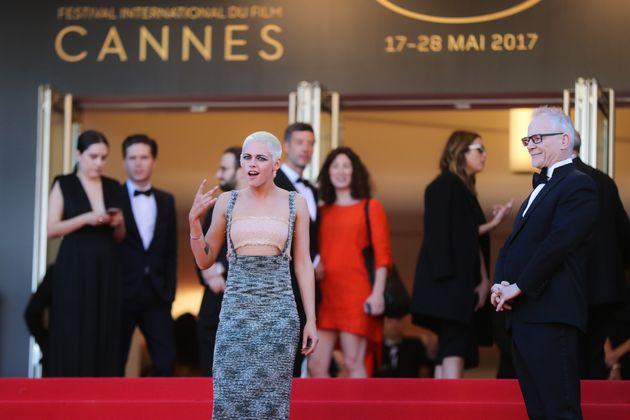 Kristen Stewart à Cannes le 20