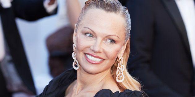 Pamela Anderson à la présentation du