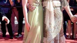 NicoleKidman et Elle Fanning très complices sur le tapis rouge de