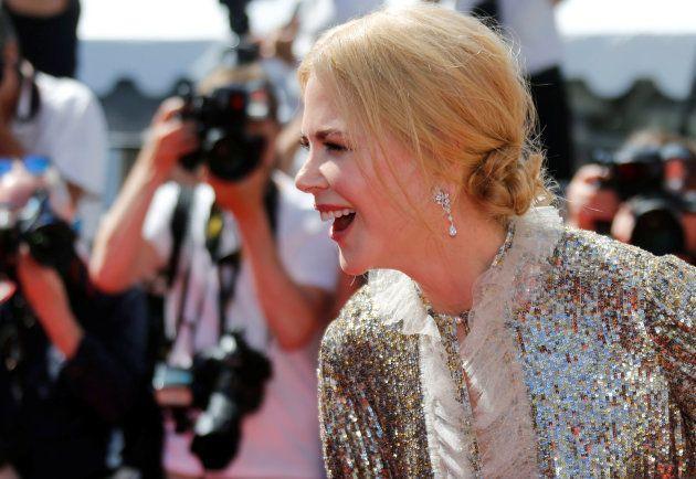 Nicole Kidman à la présentation du film