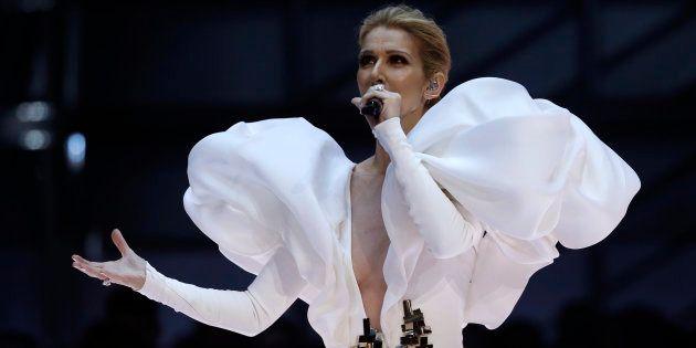 Céline Dion interprète son plus grand tube à l'occasion