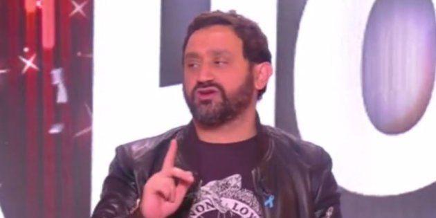 Cyrila Hanouna lors