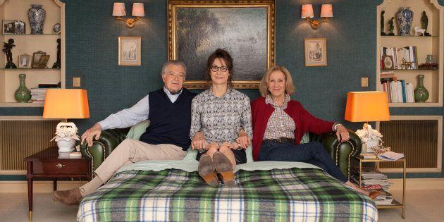 Valérie Lemercier retourne vivre chez ses parents, joués par Hélène Vincent et Philippe Laudenbach,