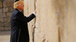 La visite historique de Trump au mur des Lamentations en