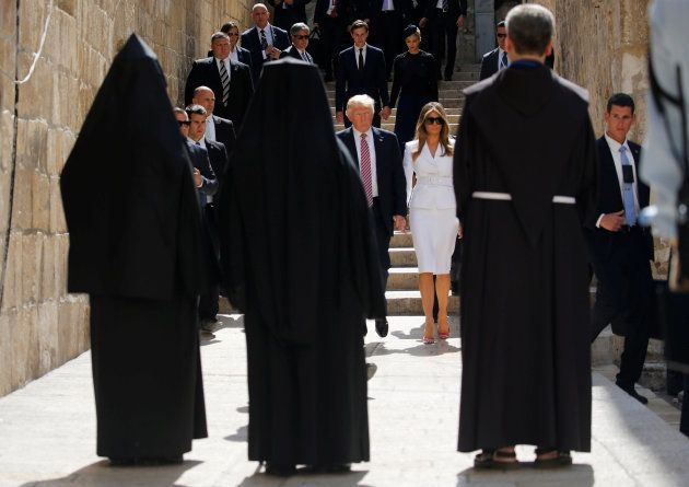 Donald et Melania Trump à