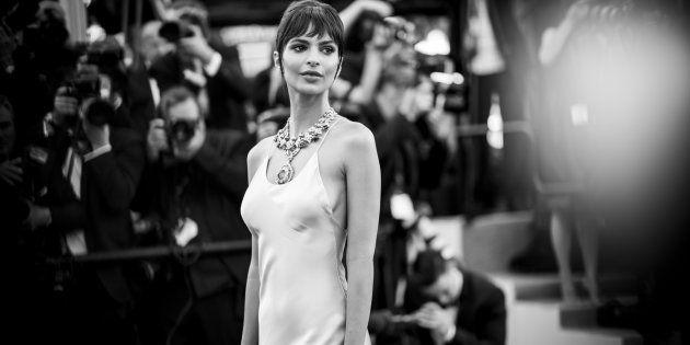 Emily Ratajkowski au Festival de Cannes