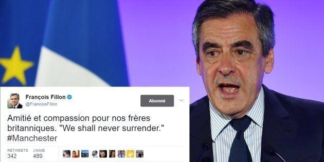 Attentat de Manchester: François Fillon sort (enfin) de son