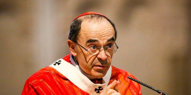 Philippe Barbarin à Lyon le 25 mars