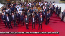 La minute de silence au Festival de Cannes après l'attentat de