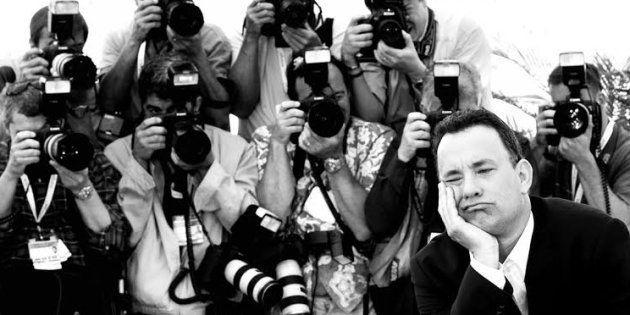 Devant mon appareil photo 21 ans de suite, Tom Hanks qui fait le pitre et David Lynch qui fait une