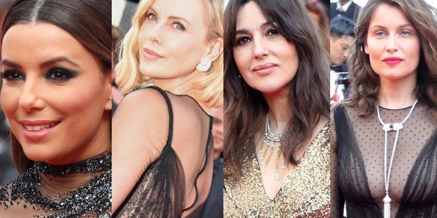 Uma Thurman, Eva Longoria, Charlize Theron, Monica Bellucci et Laetitia