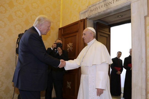 comment faire pour rencontrer le pape)