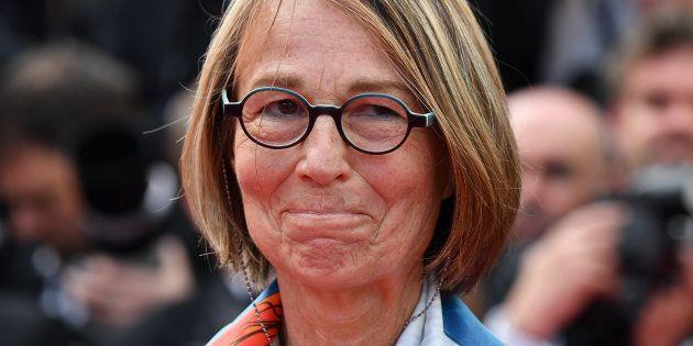 La ministre de la culture Francoise Nyssen au festival de Cannes