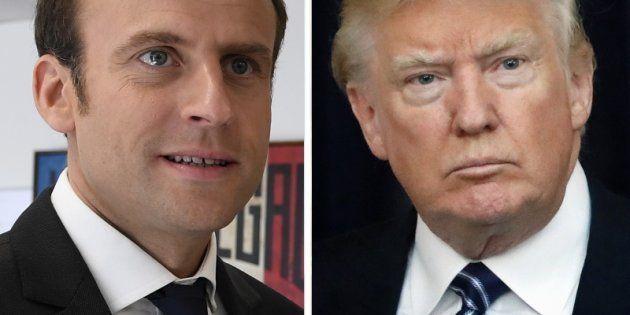 Emmanuel Macron déjeune ce jeudi avec Donald
