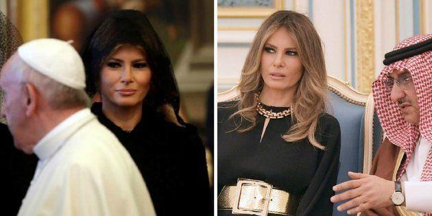 Pourquoi l'indignation autour du voile de Melania Trump est une fausse