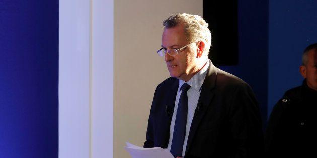 Richard Ferrand au siège d'En