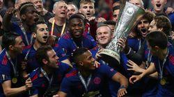 Manchester United et Pogba remportent l'Europa League face à l'Ajax